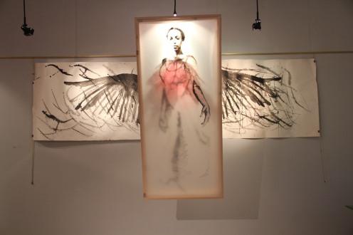 Wings - Mixed Media - 2014